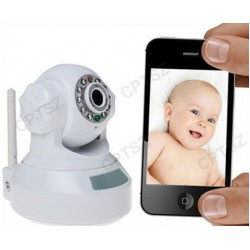 IP camera with IR-Cut &QR code, iPhone Android Quick scan-and-view