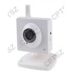 IP Camera Wireless with 300K Pixels CMOS Sensor, IR-CUT, TF Card