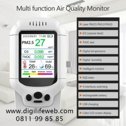 Air Quality Monitor 8 in 1 with Ozone Detector