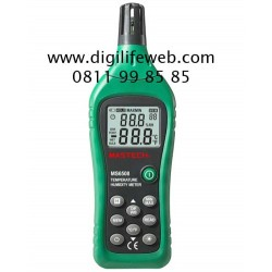 Thermometer Humidity Meter Data Logger Mastech MS6508