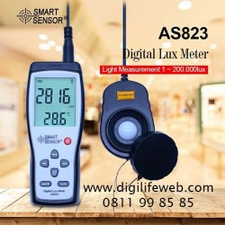 Lux Meter Smart Sensor AS823 with Calibration Certificate