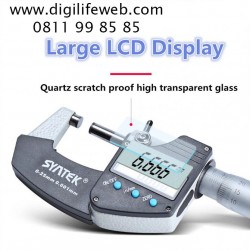 Digital Micrometer 0-25mm Syntek MIC3CB