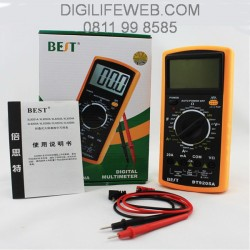 Digital Multimeter BEST 9205A - Multitester VOM AC DC