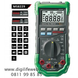 Multimeter with Environment Tester 5 in 1 Mastech MS8229