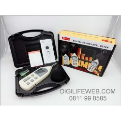 Sound Level Meter Benetech GM1357 - Ukur kebisingan suara