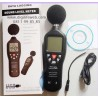 Sound Level Meter with Data Logger Function