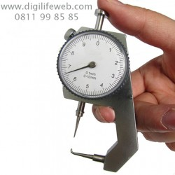 Thickness Gauge Curved Tip 0-10mm