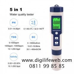 PH TDS Salinity EC Temperature 5 in 1 Meter EZ9909
