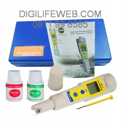 PH Meter DELUXE with Thermometer
