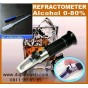 Refractometer Alcohol 0-80%