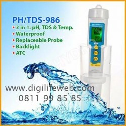 PH TDS Temperature 3 in 1 Meter