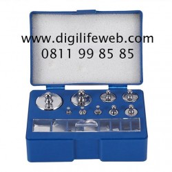 Calibration Weight 17pcs 10mg-100g set