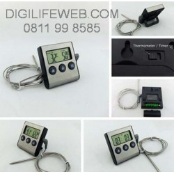 Food Thermometer with Timer D24