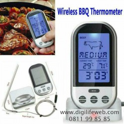 Wireless Food Thermometer with Timer FTS