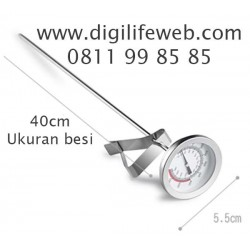 Frying Thermometer 40cm - Ukur suhu Air, Minyak