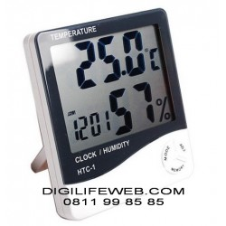 Hygrometer Thermometer Clock