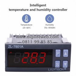 Humidity & Temperature Controller Lilytech ZL-7801A