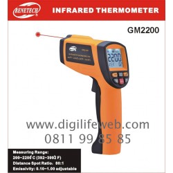 Infrared Thermometer Benetech GM2200