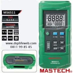 "Thermocouple Mastech MS6511  2.4"" LCD Screen J, K, T, E"
