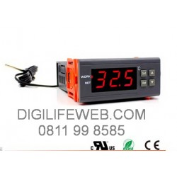 Thermostat Dual Core WILLHI WH7016E dengan Alarm
